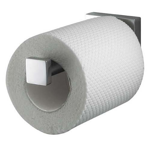 Haceka Mezzo Fixed Chrome Toilet Roll Holder