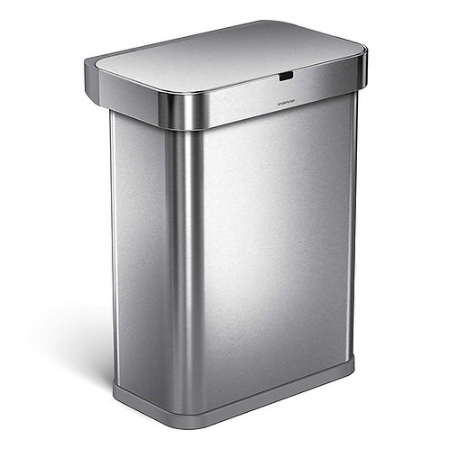 58L Rectangular Sensor Bin with Voice and Motion Control