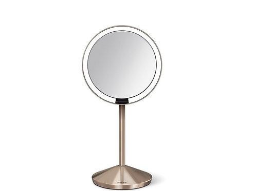 12cm Sensor Mirror in Rose Gold (10x magnification)