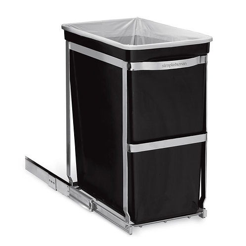 30-Liter Commercial-Grade Under-Counter Pull-Out Bin