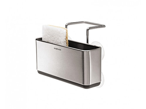 Slim Sink Caddy in Stainless Steel