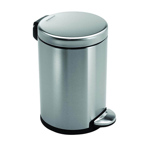 3L Single Compartment Round Pedal Bin