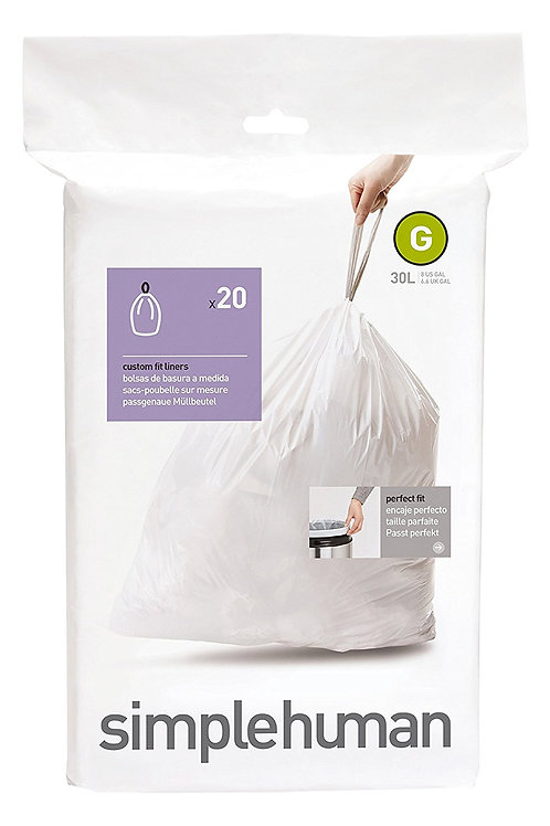 Code G Custom Fit Bin Liners (Pack of 20)