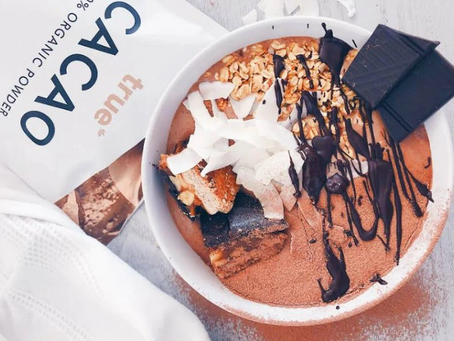 The Ultimate Chocolate Smoothie Bowl