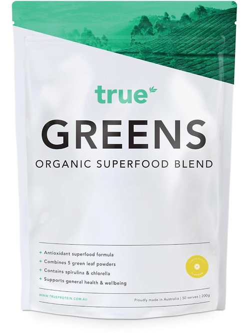 True Greens Organic Superfood Blend 200g