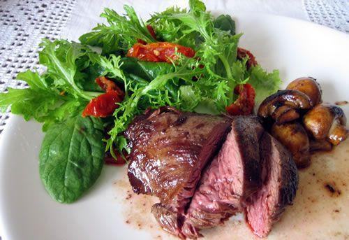 Kangaroo steak - a low fat, high protein meat