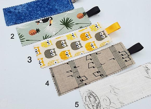 Marque Pages en Tissu