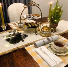 Holiday tea time.