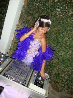aniversariante da festa