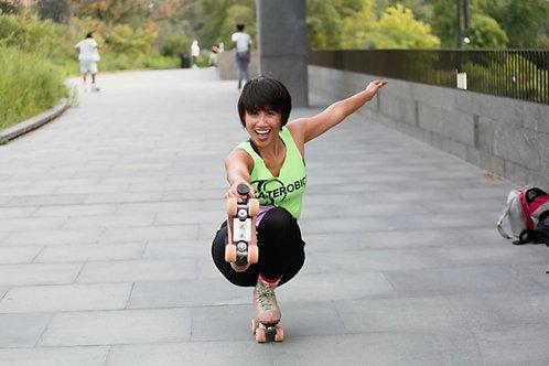 """SATURDAY-- Online Roller Skate """"SKILLS""""  Classe Via Zoom"""