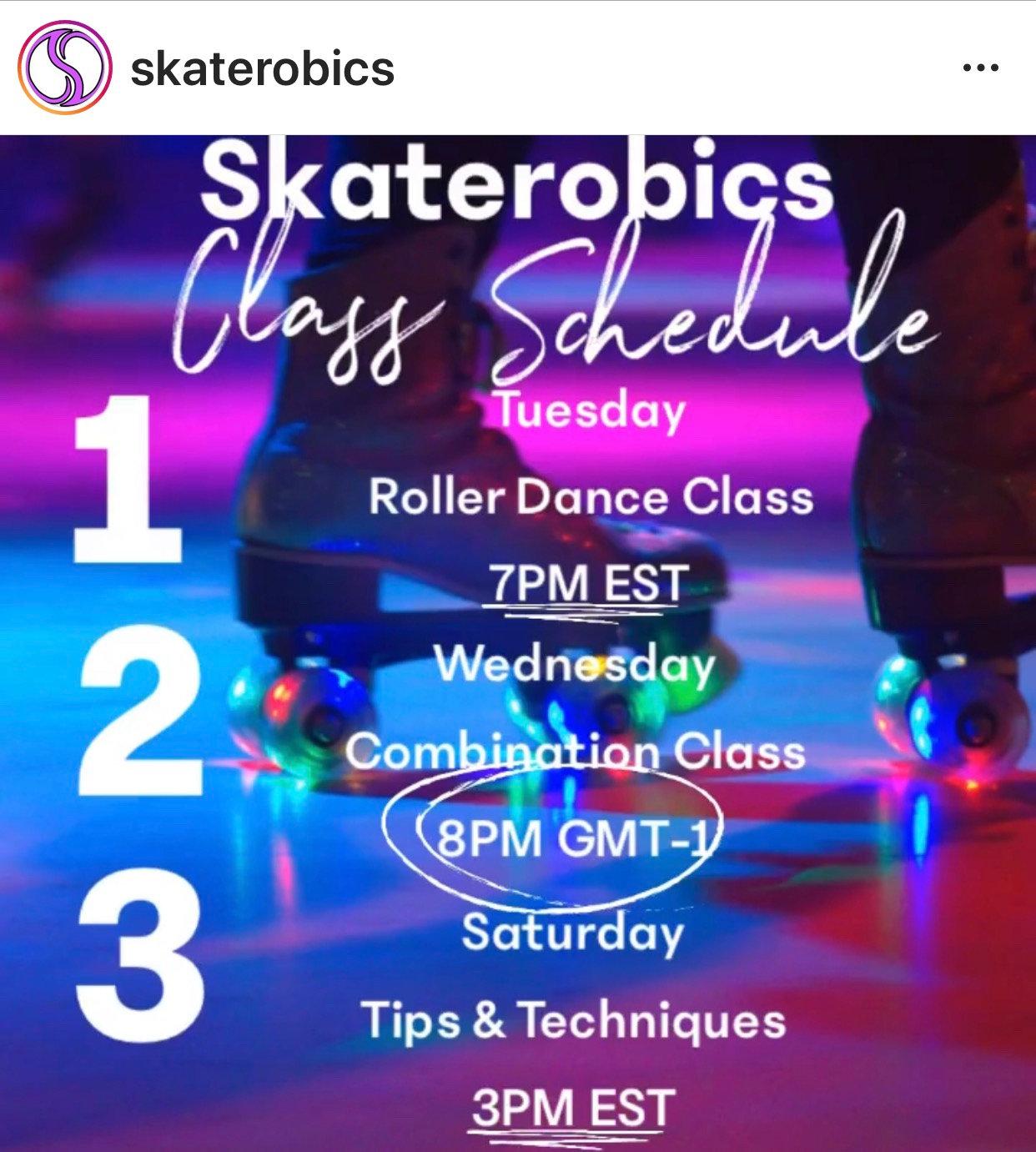 Tuesday Evening Roller Dance Class