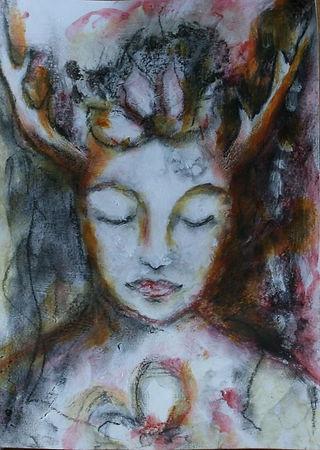 deer sister (pastel +paint).jpg