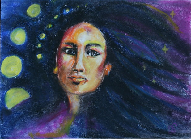 Medicine Woman (pastel).jpg