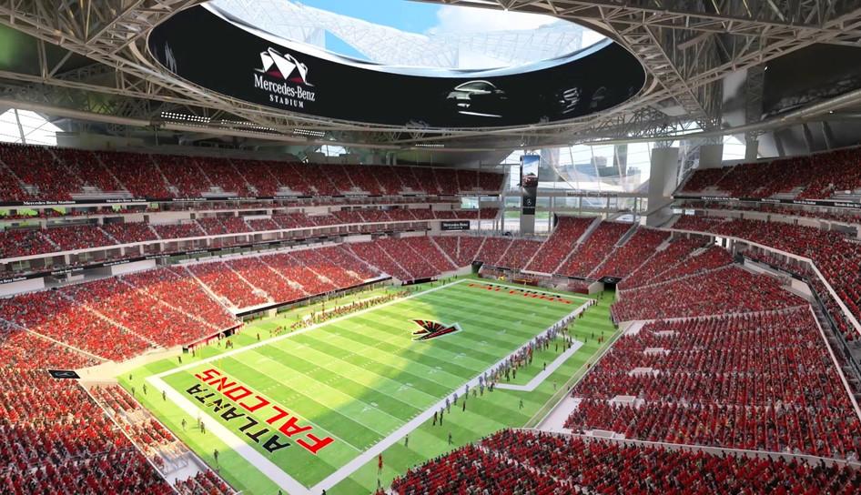 Mercedes-Benz for the Atlanta Falcons - Atlanta, GA