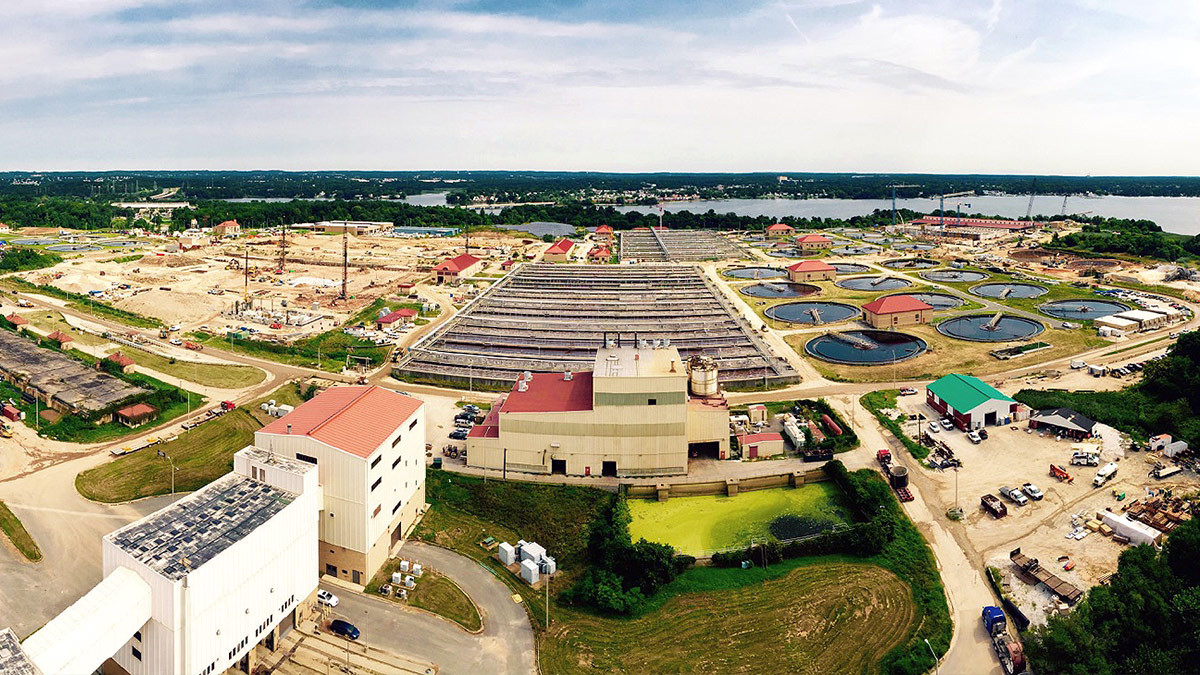 Enhanced Nutrient Process, Back River Water Waste Treatment Plant - Baltimore, MD
