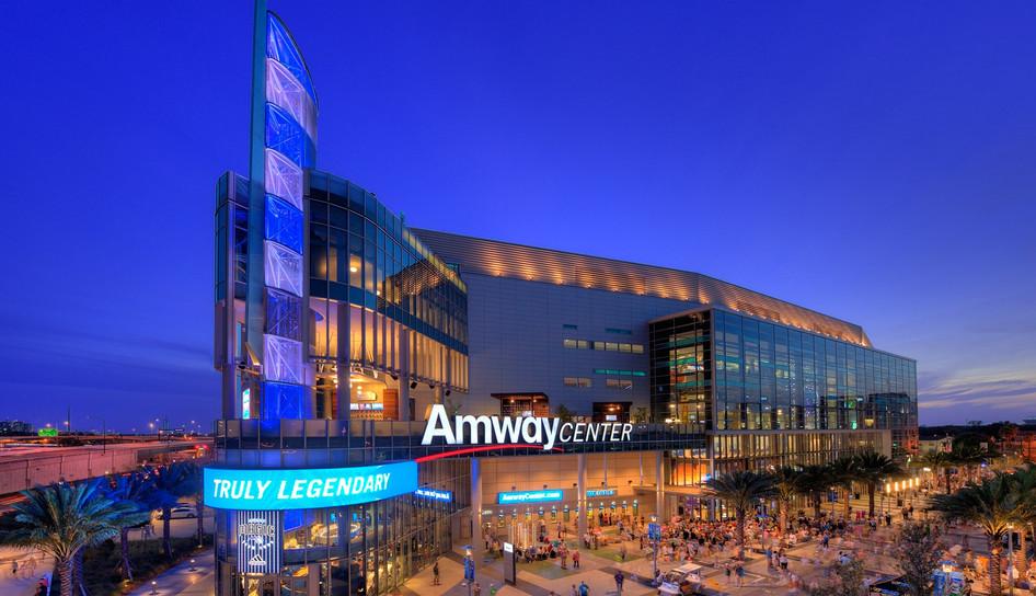 Amway Center for the Orlando Magic - Orlando, FL