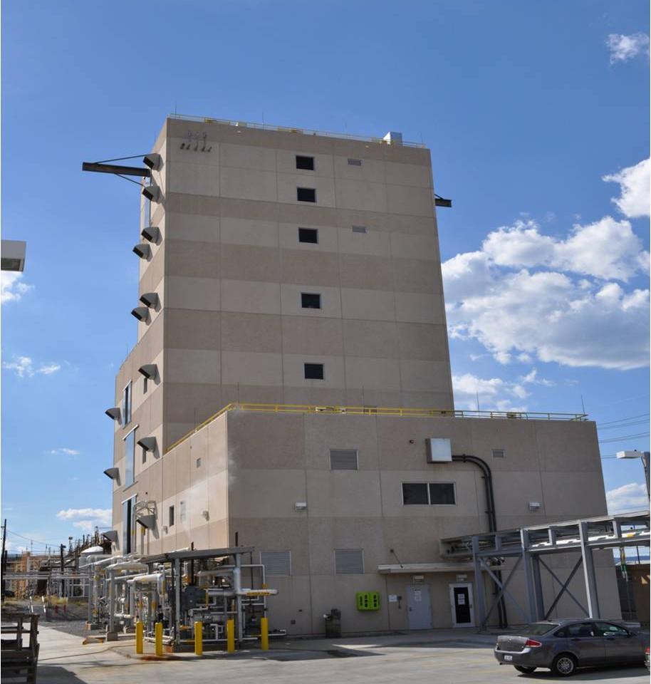 Nitric Acid Concentrator/Sulfuric Acid Concentrator Plant (NAC/SAC) - Radford Army Ammunitions Plant, Radford, VA