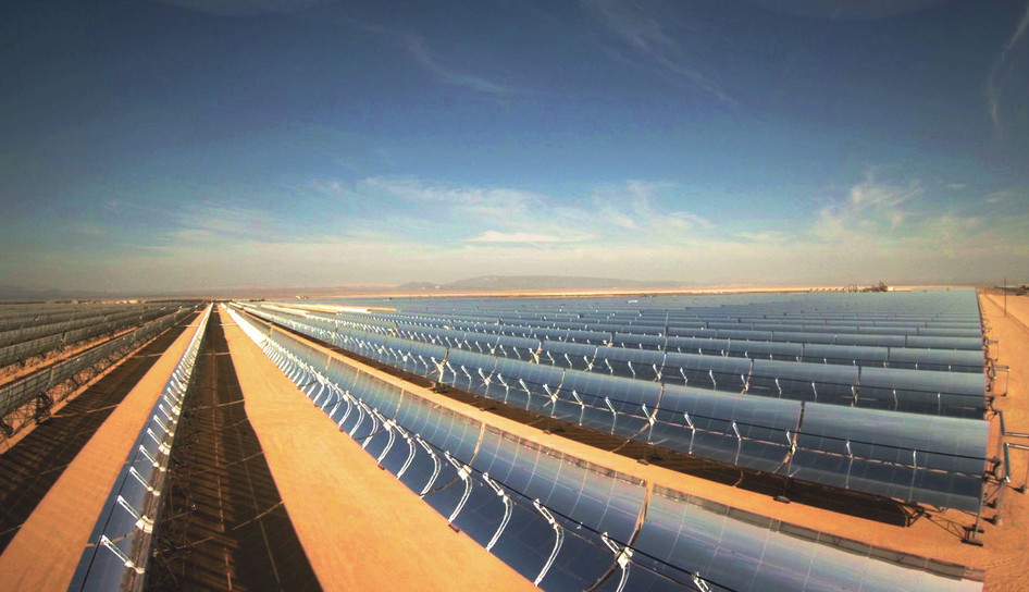 Mojave Solar Power Plant Project - Barstow, CA
