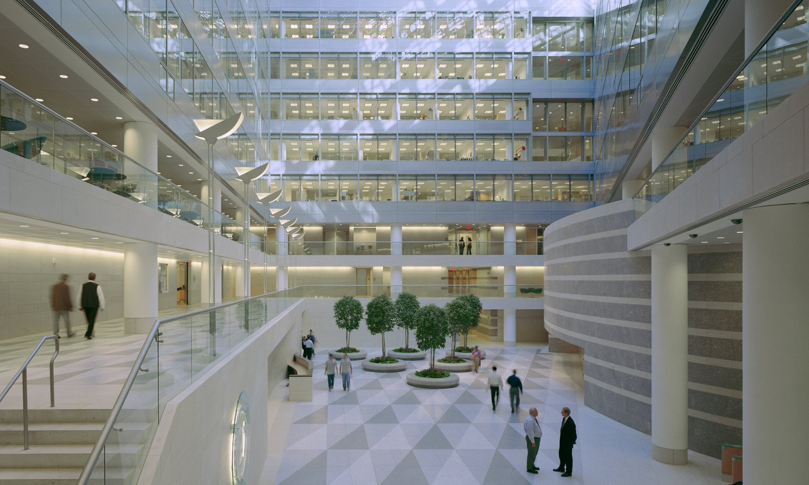International Monetary Fund (IMF) Atrium, Headquarters - Washington, DC