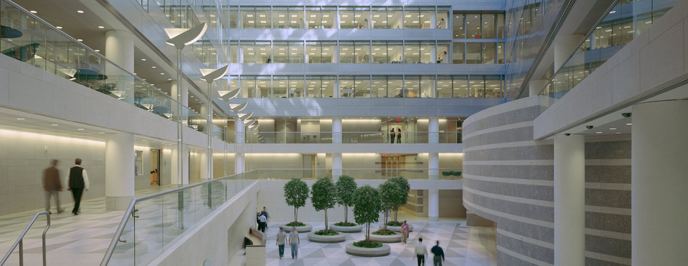 International Monetary Fund (IMF) Atrium, Headquarters - Washington, DC