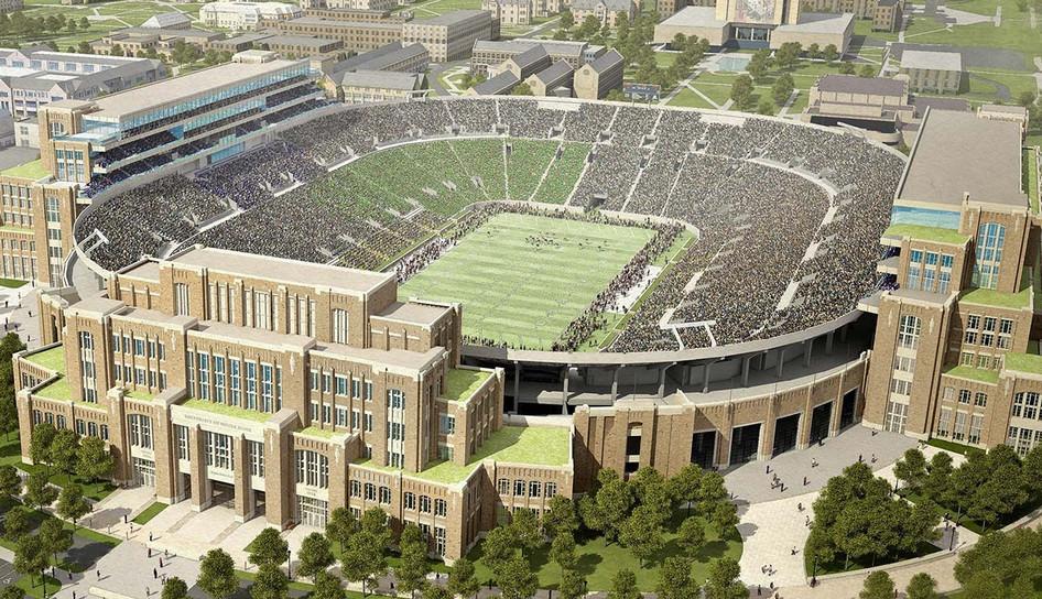 Notre Dame Stadium Expansion - Notre Dame, IN