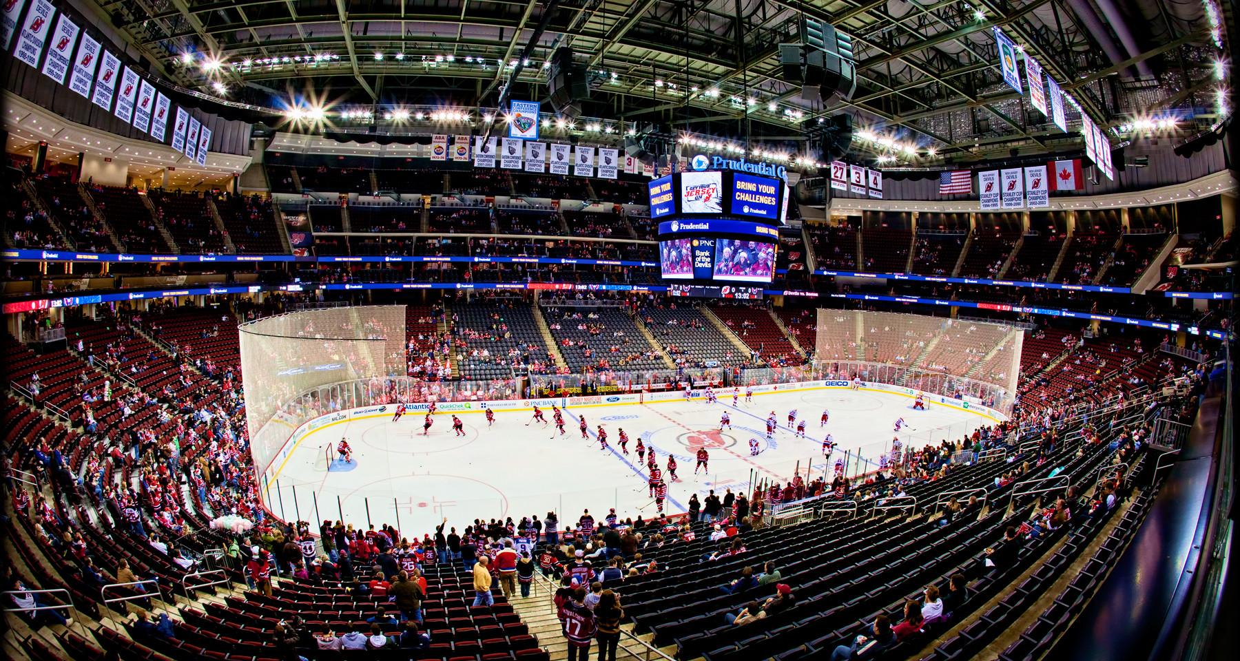 Prudential Center for the New Jersey Devils - Newark, NJ