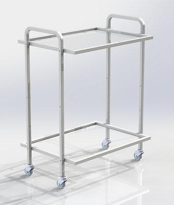 Столик СИП-2 полки стекло