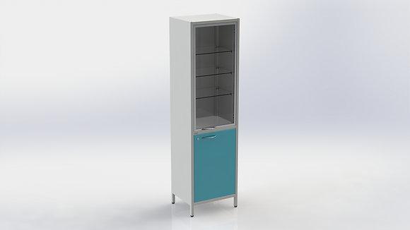 Шкаф ШМе-1см с алюминиевым профилем