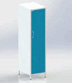 Шкаф ШМОе-1м для уборочного инвентаря