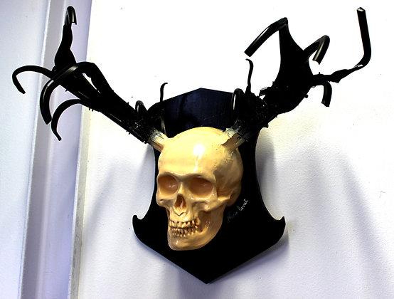 Crâne cervoïde (sculpture)