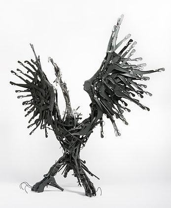 Vautour III (sculpture)