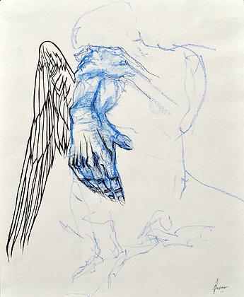 Ange nu 4 (dessin)