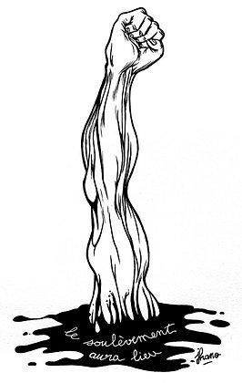 Le soulèvement (dessin)