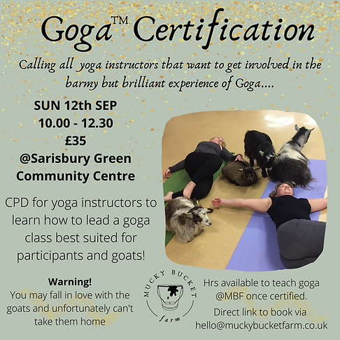 Goga certification