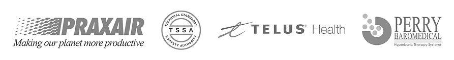 HBOT Patner Vendor Logos