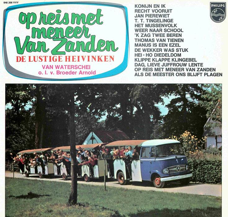 Platenhoes Op reis met Mijnheer Vanzande