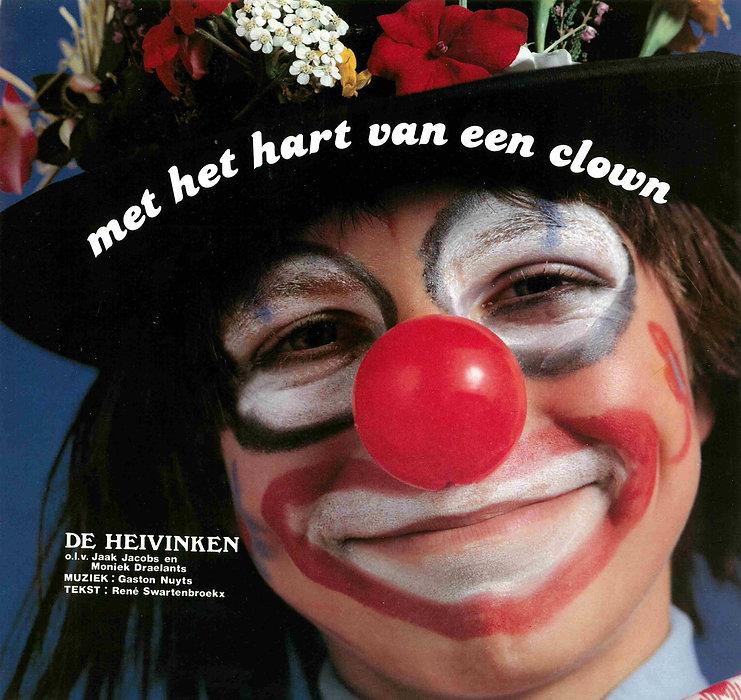 """""""Met het hart van een clown""""  1980 plate"""