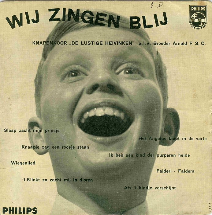 1958 Single toeren plaat Wij zingen blij