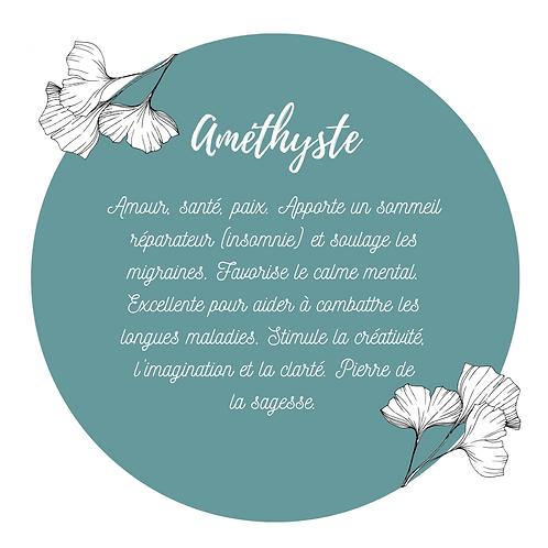 Bracelet - Améthyste