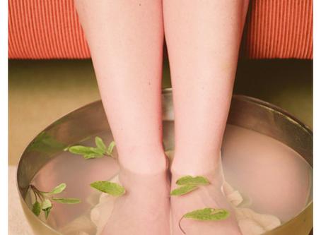 Un bon bain de pieds pour se détendre