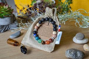 bracelet 7 chakras diffuseur d'huile essentielle vanessa lepart le boudoir aromatique montesson yvelines