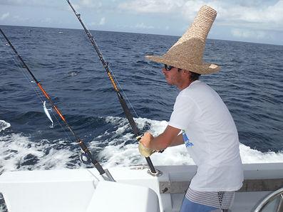 pêche au gros sportive martinique fishing amphitrite marlin benoit