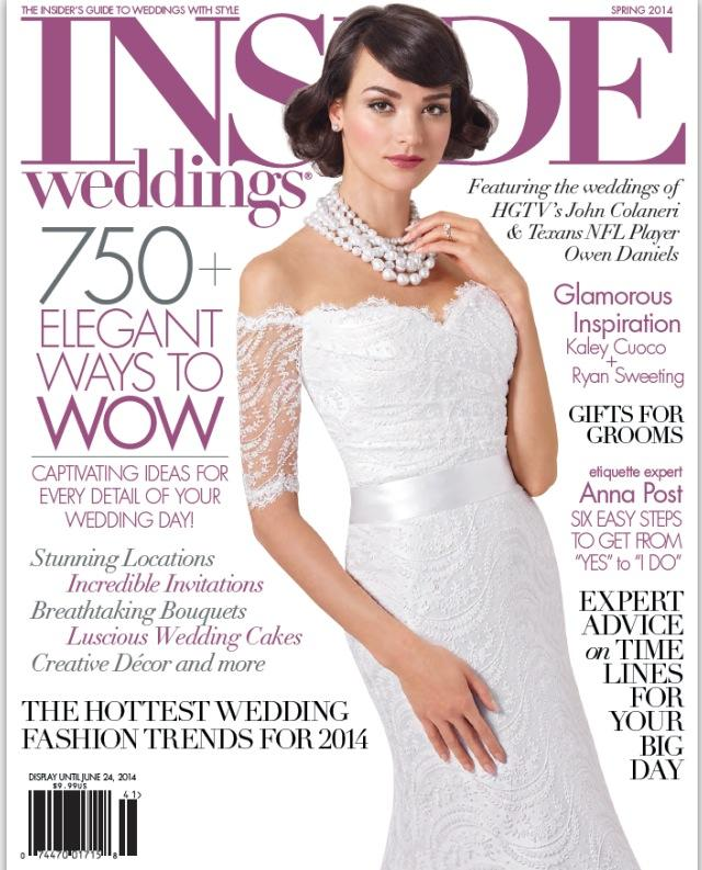 Makeup Published In Inside Weddings