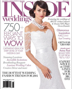 Makeup Published In Inside Weddings