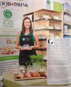 GREEN PLATE in 002 Magazine