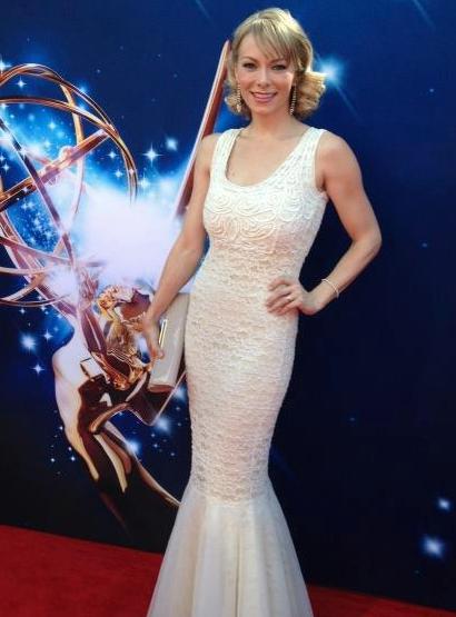 Stephanie Drapeau Emmys 2012