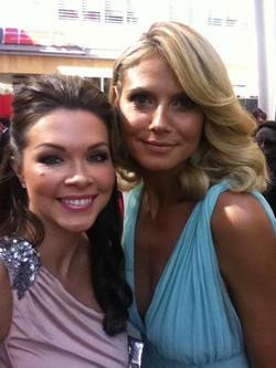 Jentry & Heidi Klum Emmys 2012
