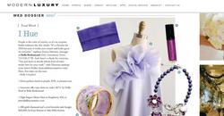 Brides Magazine: JKC Raspberry Gloss