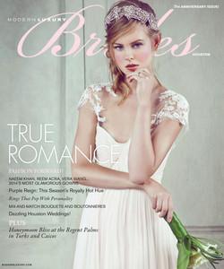 Brides Magazine Cover. JKC on PG 44
