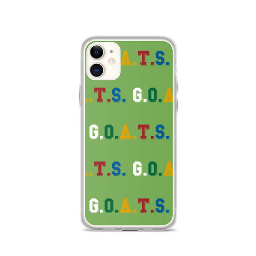 GOATS iPhone Case Green
